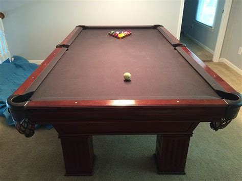 gandy pool table prices preowned 8 5 gandy pool table