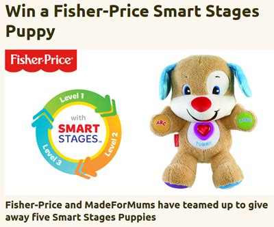 fisher price smart stages puppy win one of 5 fisher price smart stages puppy