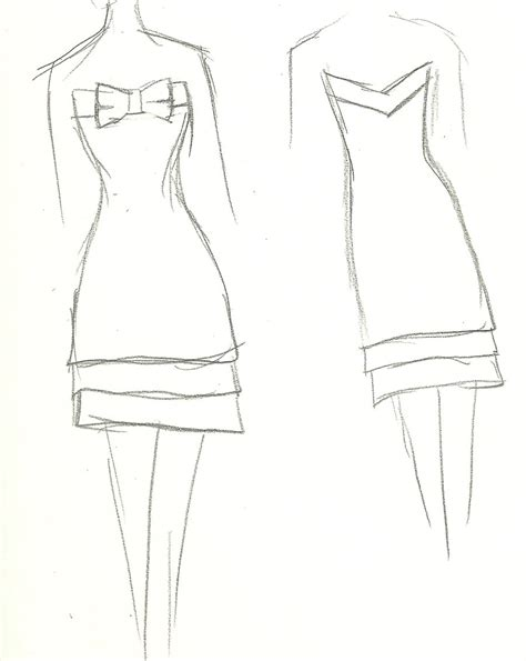 design dress step by step simple dress with bow 2 by yukiko design on deviantart