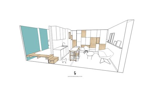 300 square foot apartment 257 richard guibault richard richard guibault created an airy parisian apartment in