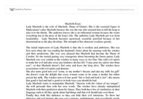 themes macbeth essay macbeth essay topics essay of macbeth macbeth essay