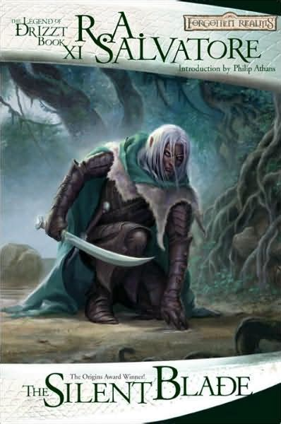 forgotten realms the silent blade legend of drizzt 11 by r a salvatore paperback
