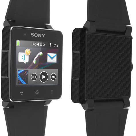 Sony Smartwatch 2 skinomi techskin sony smartwatch 2 carbon fiber skin protector