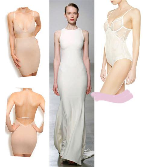 lenceria ropa interior cuatro tipos de lencer 237 a para cuatro vestidos de novia