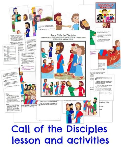 Activities The O Jays And - call of the 12 disciples activities activities and the o