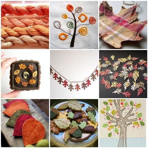 Handmade By - knitted things handmade autumn mosaic