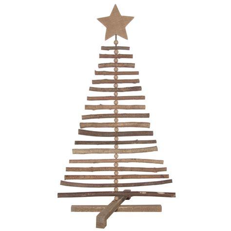 sapin de no 235 l en bois avec branches 224 poser 40x30x70cm cosy
