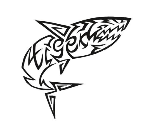 tiger shark tattoo designs mansford masters tiger shark design