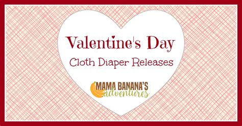 valentines day releases s day cloth diapers cloth releases for v day