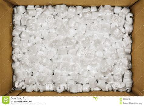 Sterofoam Box Package styrofoam peanuts stock photo image of packing cardboard 35868818