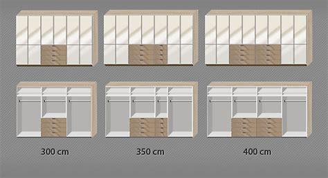 kleiderschrank 400 cm moderner dreht 252 renschrank in eiche s 228 gerau dekor mit glas