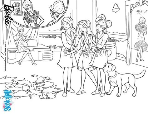 coloring pages barbie charm school blair is miss disaster coloring pages hellokids com