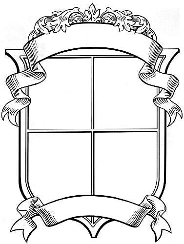 coat arms template ptoar5kpc luxury blank family crest