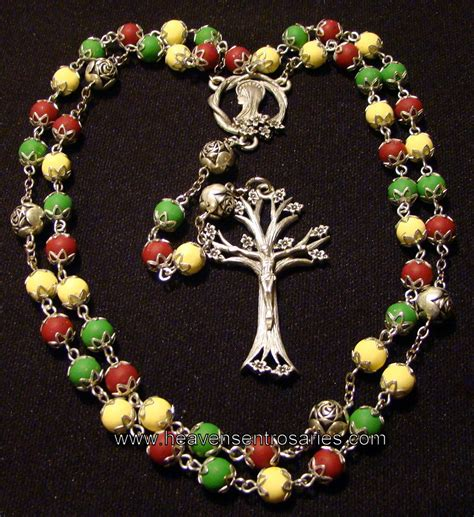 Handmade Rosaries - flower petal rosaries and chaplets