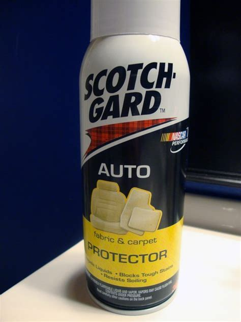 Scotchgard Car Upholstery by Protect Your Car From Spills And Stains With Scotchgard