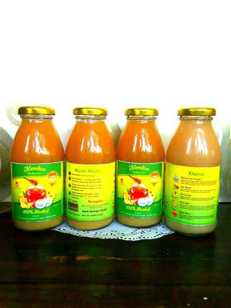 jual jus herbal bawang putih cuka apel jahe merah lemon