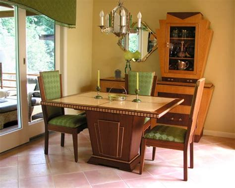 art dining room furniture art deco dining set