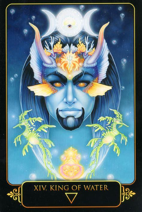 libro dreams of gaia tarot king of water dreams of gaia tarot by ravynne phelan tarots tarocchi e cristalli