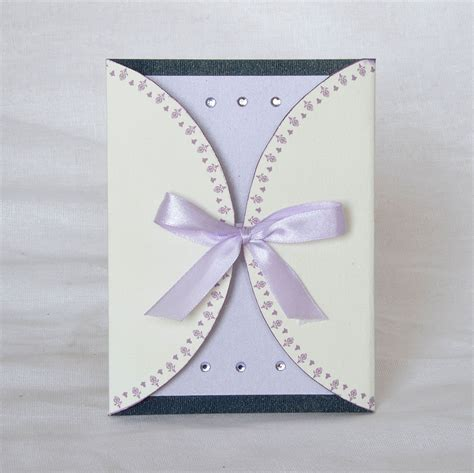 Handmade Wedding Cards Design - from the earth design your own custom handmade cards