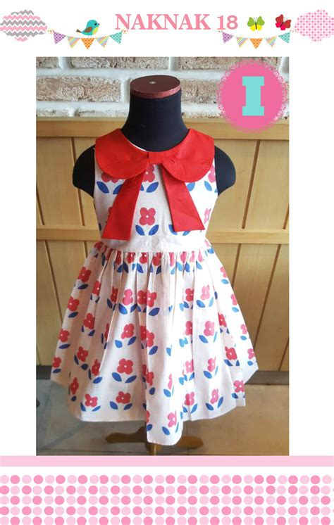 Dress Nak nak 18 i floral dress cherry