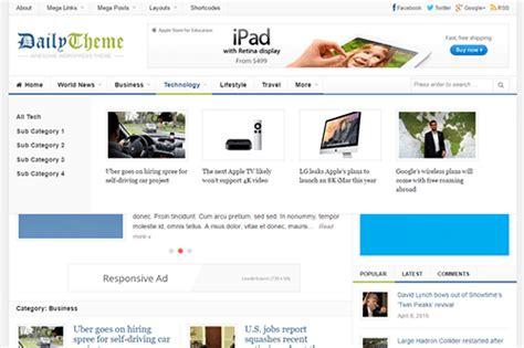 theme junkie daily daily wordpress theme theme junkie