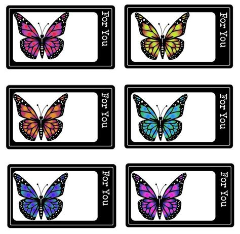 printable butterfly name tags butterfly free printable gift tags allfreepapercrafts com