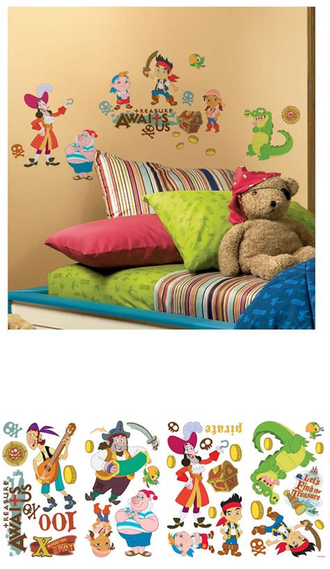 jake and the neverland wall stickers jake and the neverland wall stickers the frog and the princess
