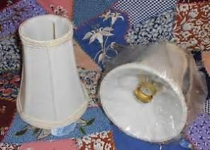 chandelier candelabra fabric l shade in ivory w