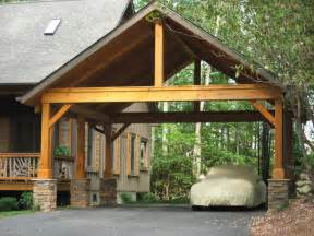 wood carports home design architecture