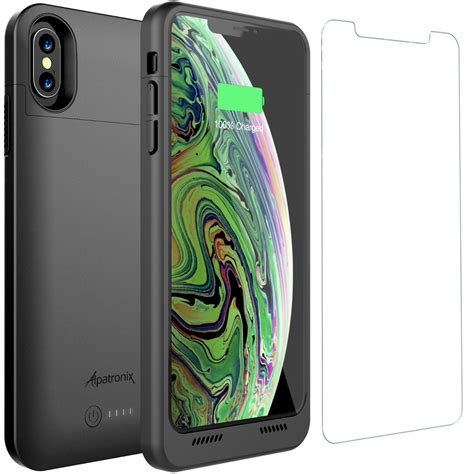 iphone xs max battery charger cover with qi wireless charging by alpatronix ebay