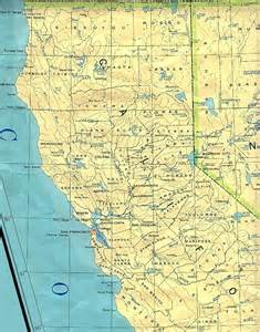 northern california base map