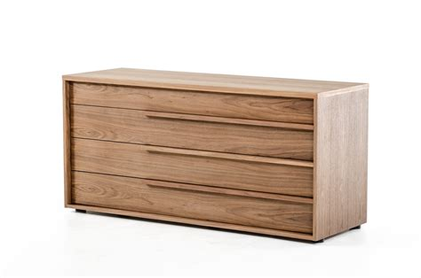 modrest beth modern walnut dresser dressers bedroom