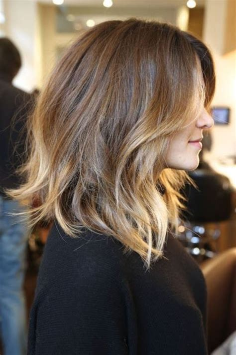 how to ombre shoulder length hair shoulder length ombre hair hair pinterest