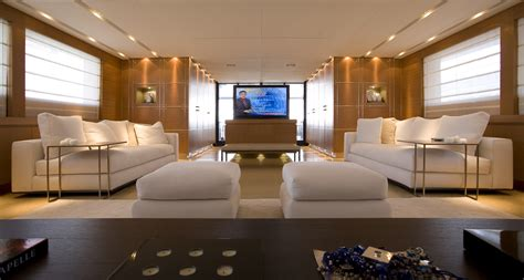 Stylish Living Room seakid tatiana per sempre salon tv luxury yacht