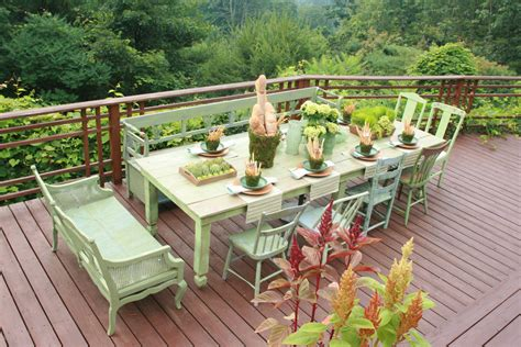 Chic Patio Furniture Gorgeous Shabby Chic Patio Design Ideas