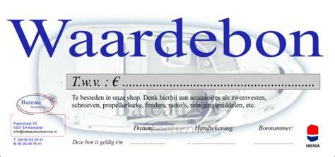 rubberboot 100 euro cadeau bon twv 100 euro cadeaubonnen bateau bootservice