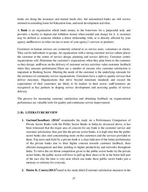 satisfaction dissertation dissertation customer satisfaction