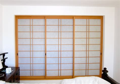 Japanese Living In Closet by Shoji Screens Closet San Francisco By