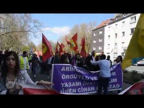 azad teppiche dortmund ciwanen azad jugend demonstration in dortmund am 18 04
