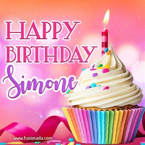 happy birthday gifs  simone   funimadacom