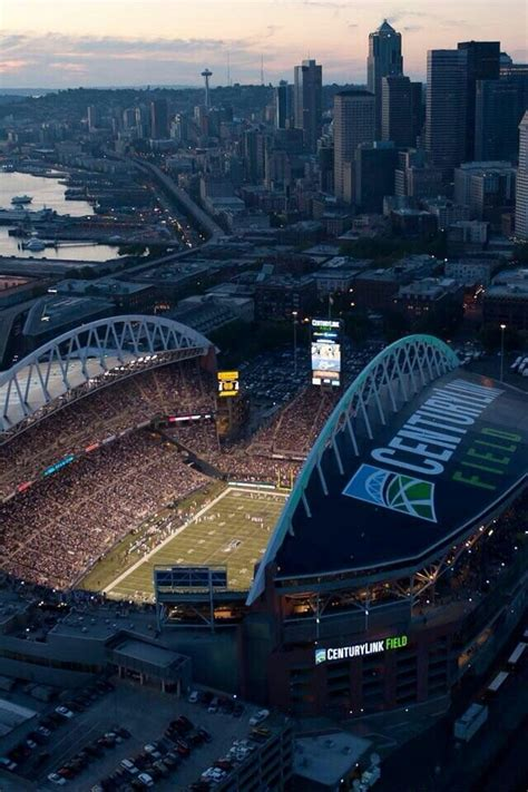 seattle s century link field home of the seattle seahawks