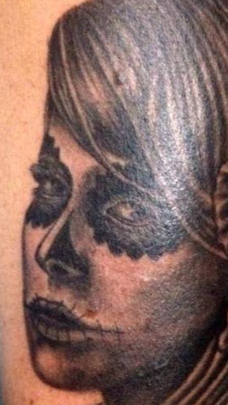 forever art tattoo forever tattoos part arm sugar skull