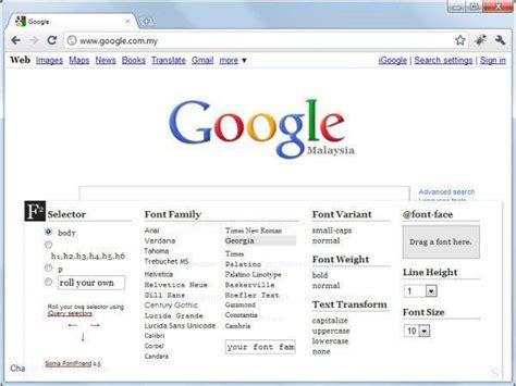 design pro font editor 40 extensiones de chrome 218 tiles para dise 241 adores web