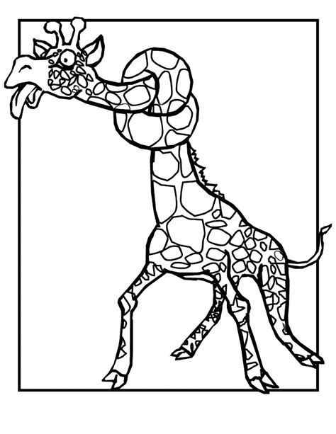 coloring pages of cartoon giraffes baby giraffe cartoon pictures cliparts co