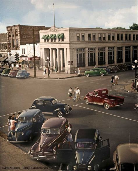 Home Depot Florence Al by Coloring The Past Downtown Florence Alabama 1942 See