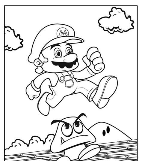 H Brothers Coloring Page by Amazing Coloring Pages Mario Bros Coloring Pages