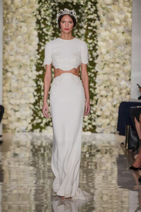 New Season Trends Dresses by The Gown Trends From The 2015 Bridal Runway Shows