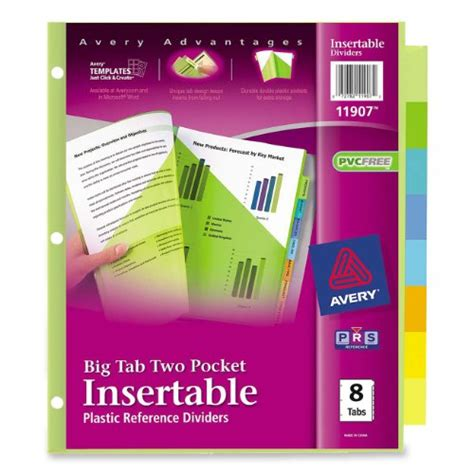 avery big tab inserts for dividers 8 tab template avery worksaver big tab insertable dividers 5 tabs 1 set