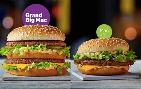 Big Mac Jakarta kenalin grand big mac big mac yang paling gede feedme id