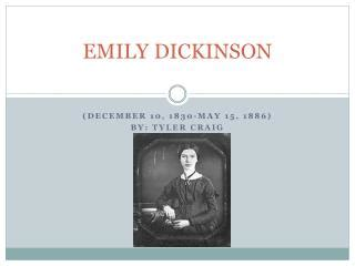 emily dickinson biography ppt ppt emily dickinson powerpoint presentation id 186911